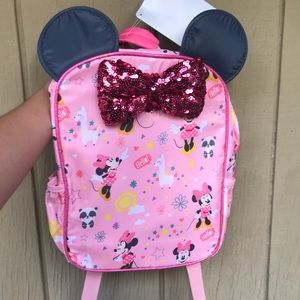 Disney Store Minnie Mouse Backpack NEW!